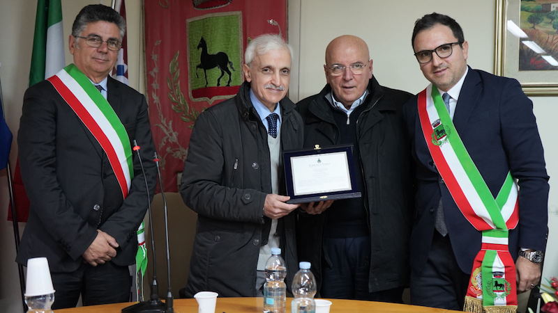 cittadinanza onoraria Franco Corbelli